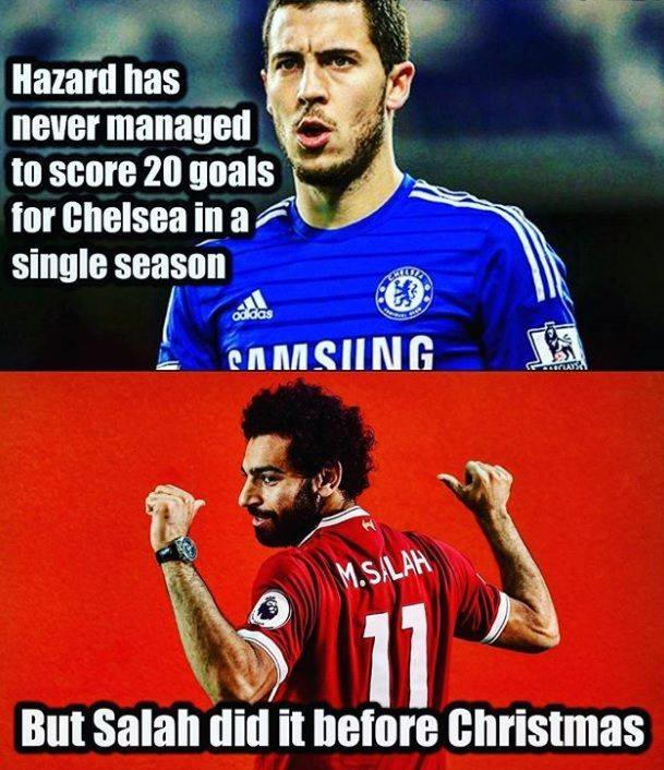Quite a difference there Hazard vs Salah? – Live Stream HD