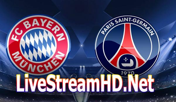 Bayern München Paris Saint Germain Live Ticker Und Live Stream